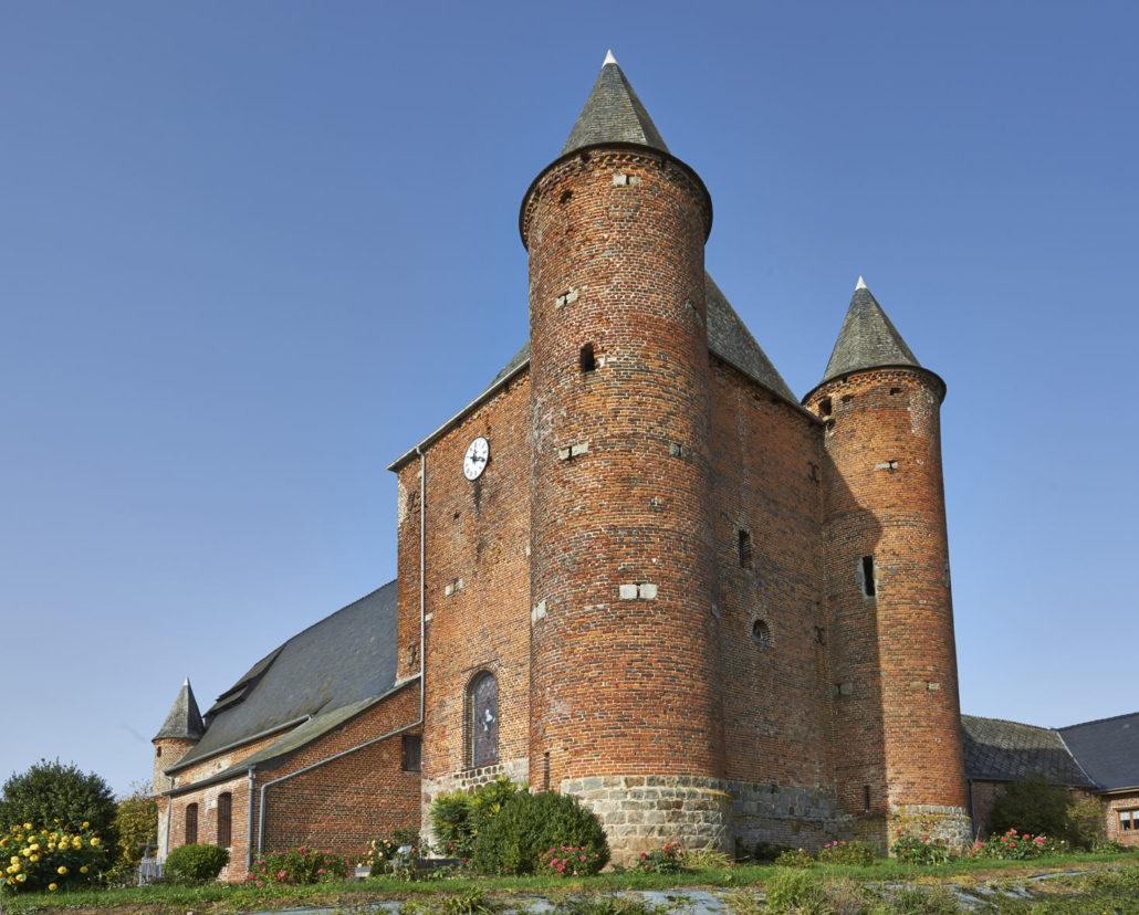 Abbaye de Maroilles en Thierache proche Lesire et Roger